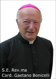 Vescovo emerito di Siena Gaetano Bonicelli che appoggia in pieno questa nostra iniziativa.